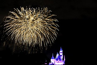 Fireworks at Disneyland | by AngryJulieMonday