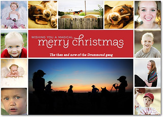 Christmas card from the Drummond gang | by Godisgood.maggie96