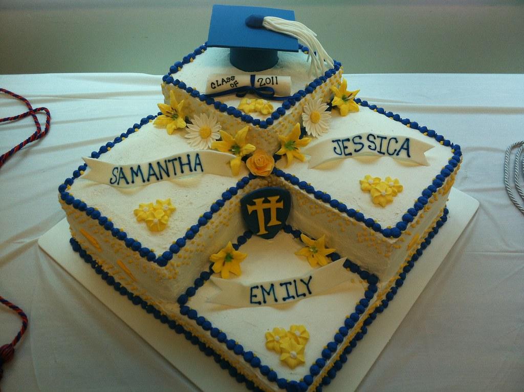 High School Graduation Cake Images