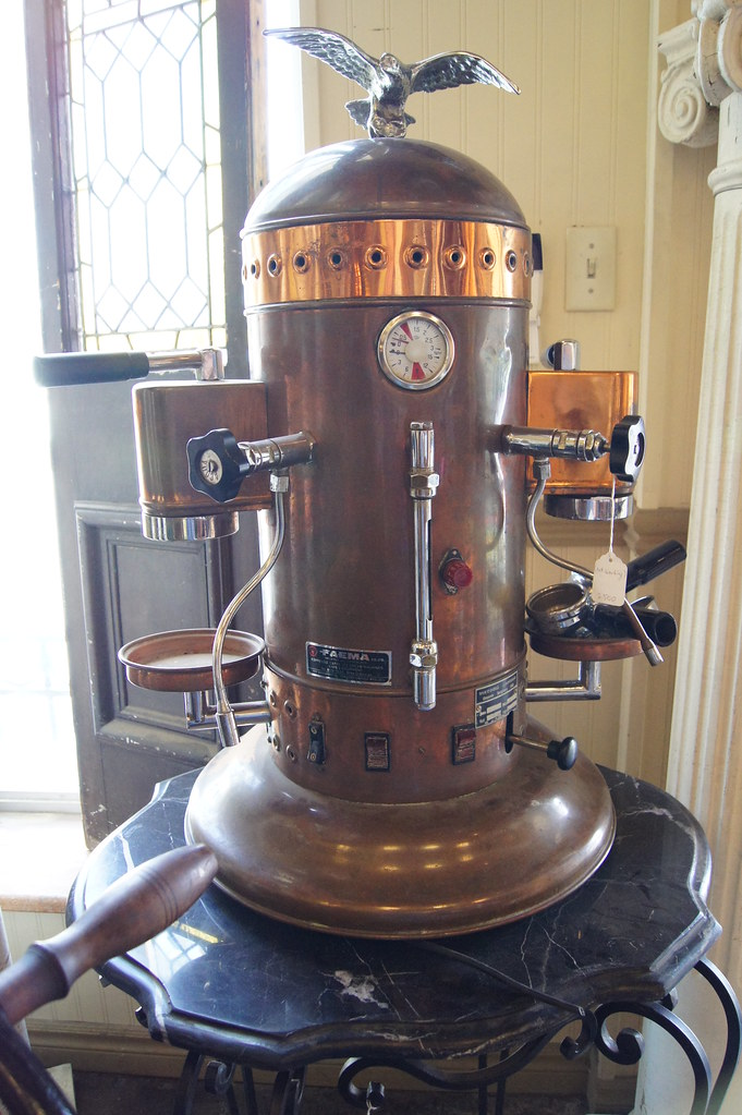 Antique Italian Coffee Maker : Vintage Espresso Machine 04684 SOLD The Door Store Flickr