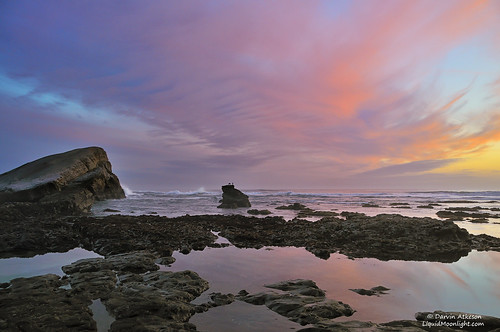 Pacific Sunset - Greyhound Beach, California | by Darvin Atkeson