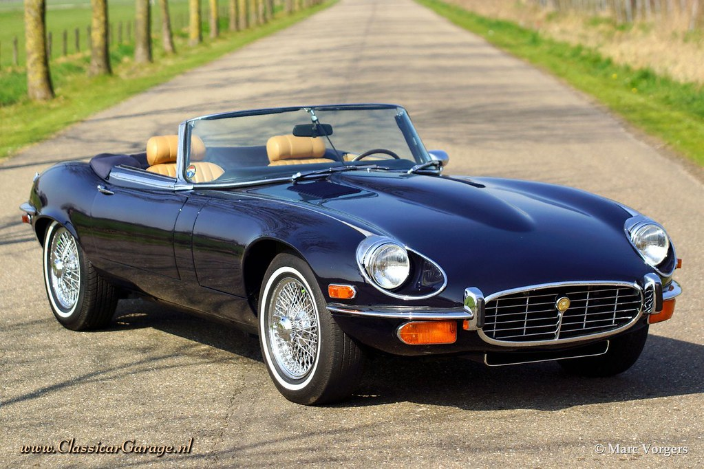1973 jaguar e type v12 convertible marc vorgers flickr. Black Bedroom Furniture Sets. Home Design Ideas