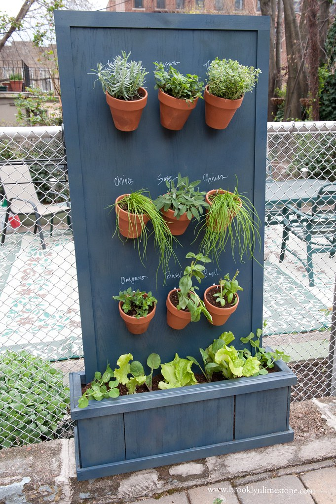 How To Make A Vertical Herb Garden Flashback Friday