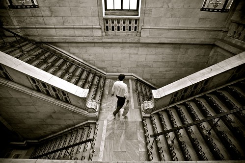 Stair Crossways, New York Public Library | by Alex E. Proimos