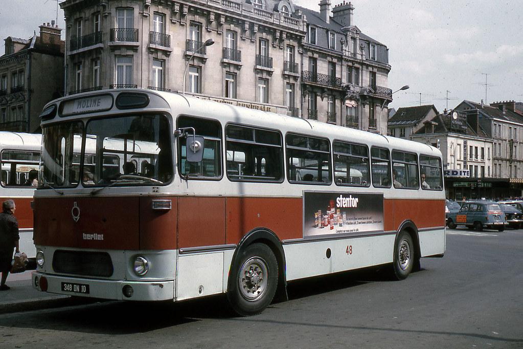 JHM-1974-0256 - Troyes, autobus Berliet | Jean-Henri ...
