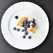 Blueberries & creme fraiche