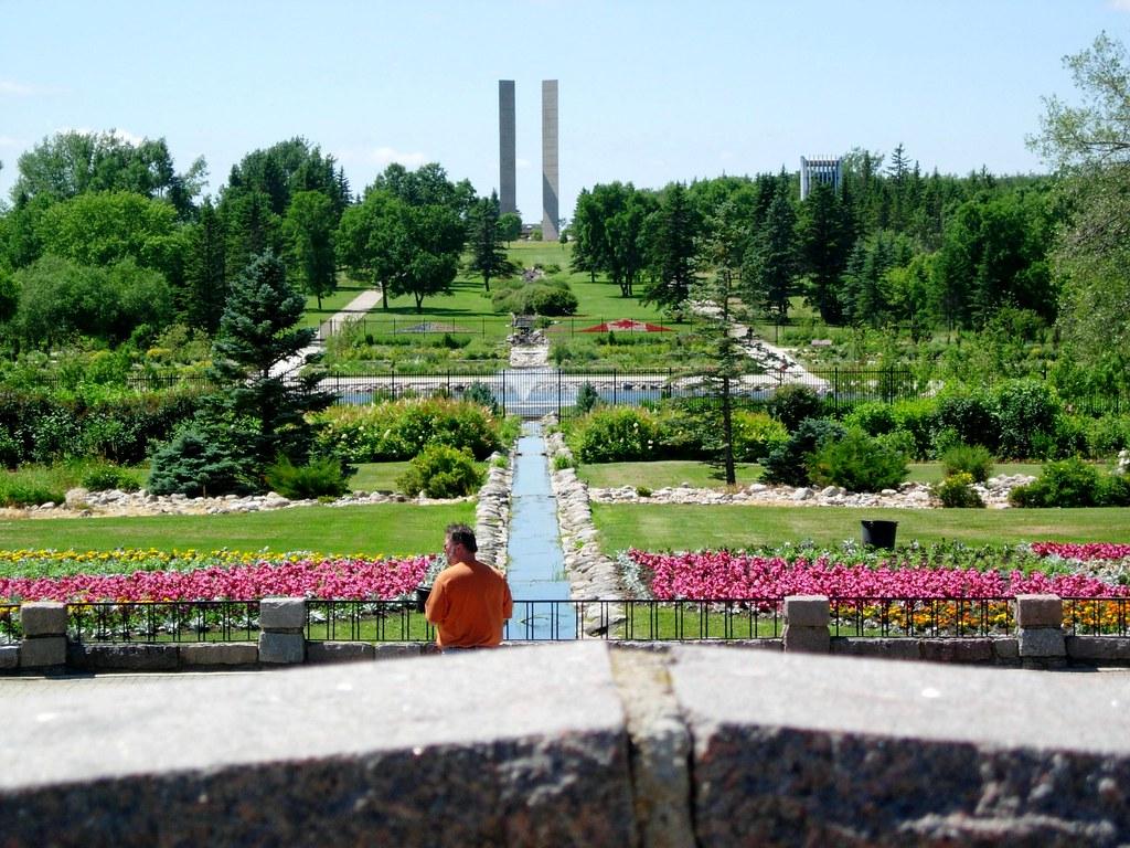 Peace Garden Canada Garden Ftempo