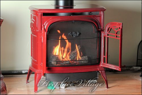 vermont castings stardance red gas stove fireplacevillage flickr