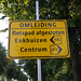 Bike path closed... detour!