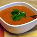 A refreshing and easy no cook summer recipe: gazapcho! (chilled tomato vegetable soup)