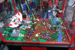 Star Wars Display Case - LEGO Booth at Comic Con - 1 | by fbtb
