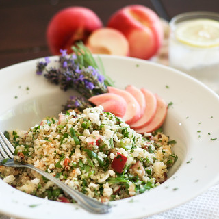 Peach and Lavender Quinoa Salad-4 | by Sonia! The Healthy Foodie