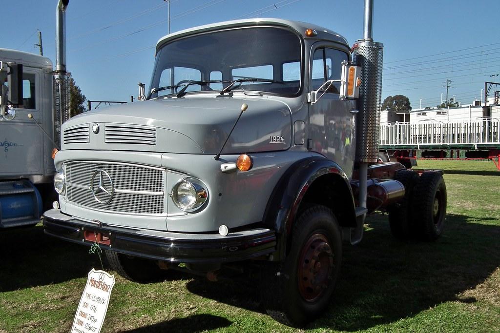 1976 mercedes benz ls 1924 36 prime mover 1976 mercedes for Mercedes benz truck for sale
