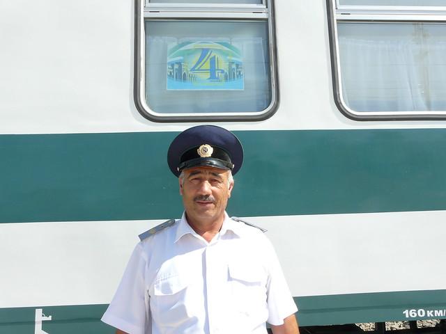 Personal ferroviario en Uzbekistán