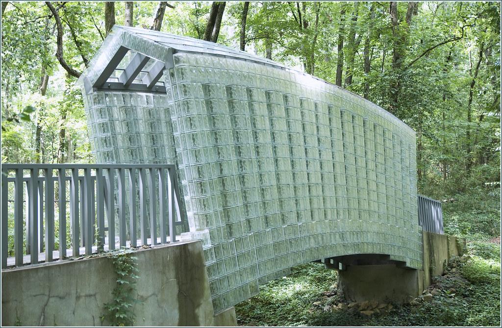Glass Bridge Siah Armajani Cheekwood Botanical Garden Flickr