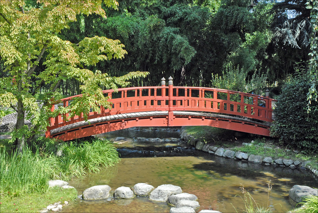 Le Jardin Japonais Albert Khan Boulogne Billancourt Flickr