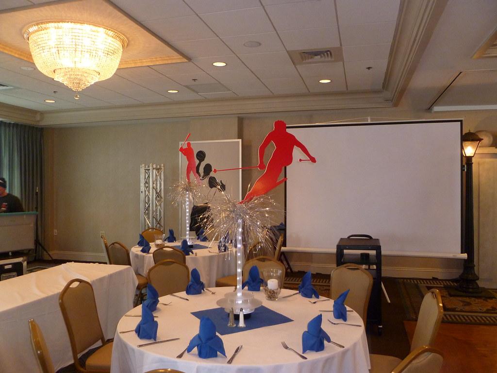 Sports Theme Bar Mitzvah A Salem Waterfront Hotel With Ski