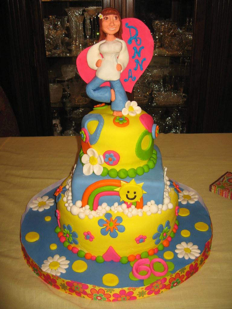 Happy Birthday Hippie Cake