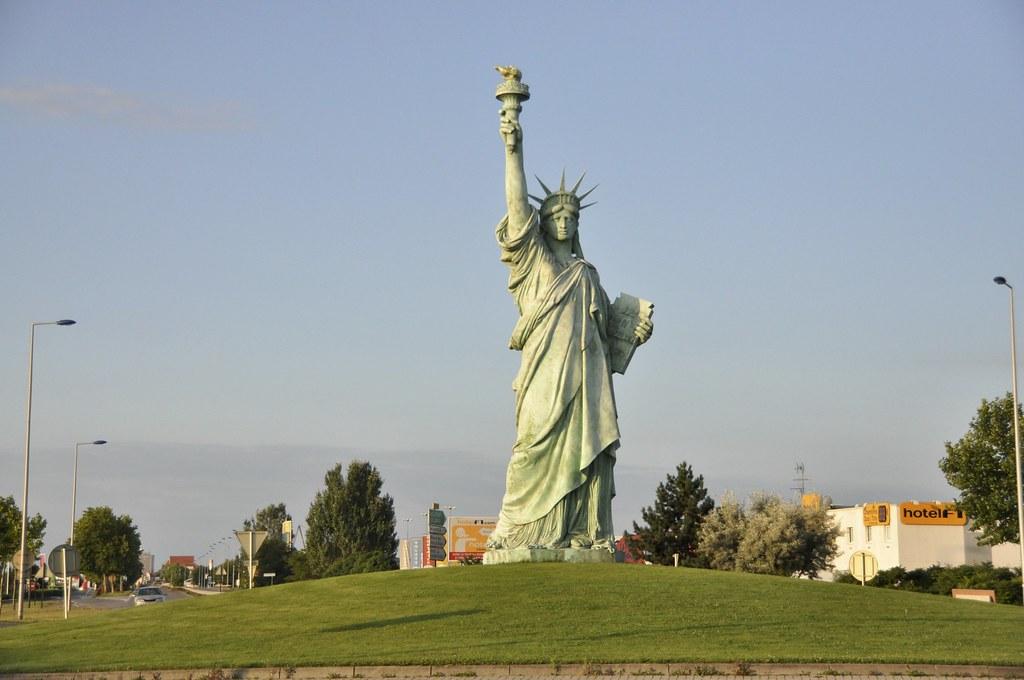 Image result for statua della libertà a colmar