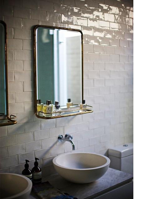 Wonder paul barbera via design files white vintage art flickr for Toilet deco