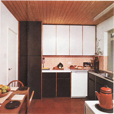 1970 39 s kitchen design this image is out of an old for Retro kitchen ideas 1970