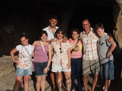 At Sperlinga with Orazio and Maria Conchetta and Filippo Montalto and family