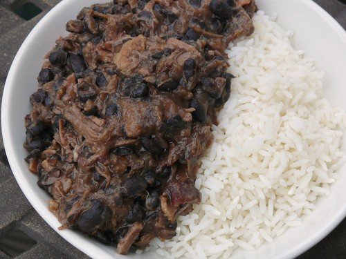 Brazilian Beef Stew (Feijoada) and Rice | by swampkitty