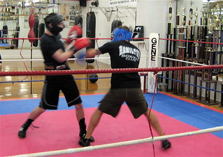 Sparing class, boxing | by thing2dob4idie