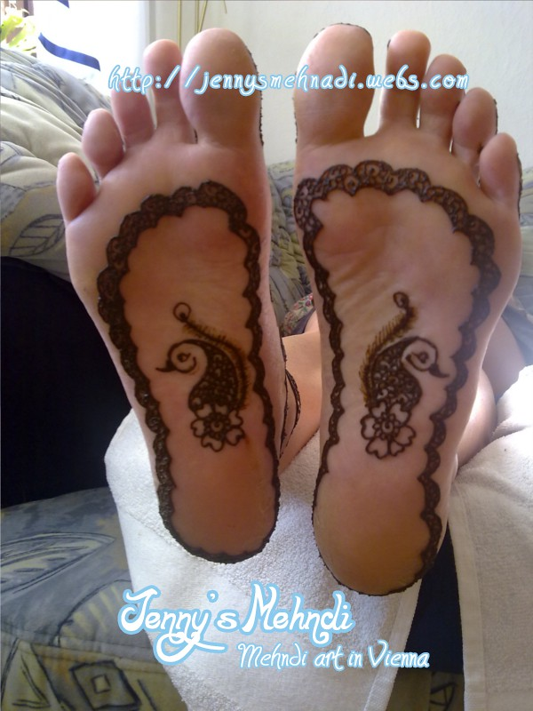 Barbara2 8.7.2011 | My first henna soles. This was a