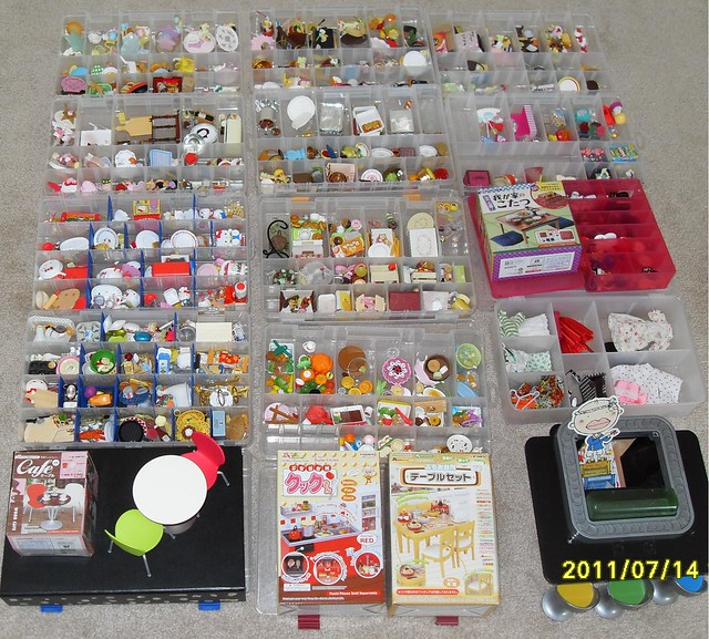 Re Ment Kitchen Set: Re-Ment Collection- July 2011