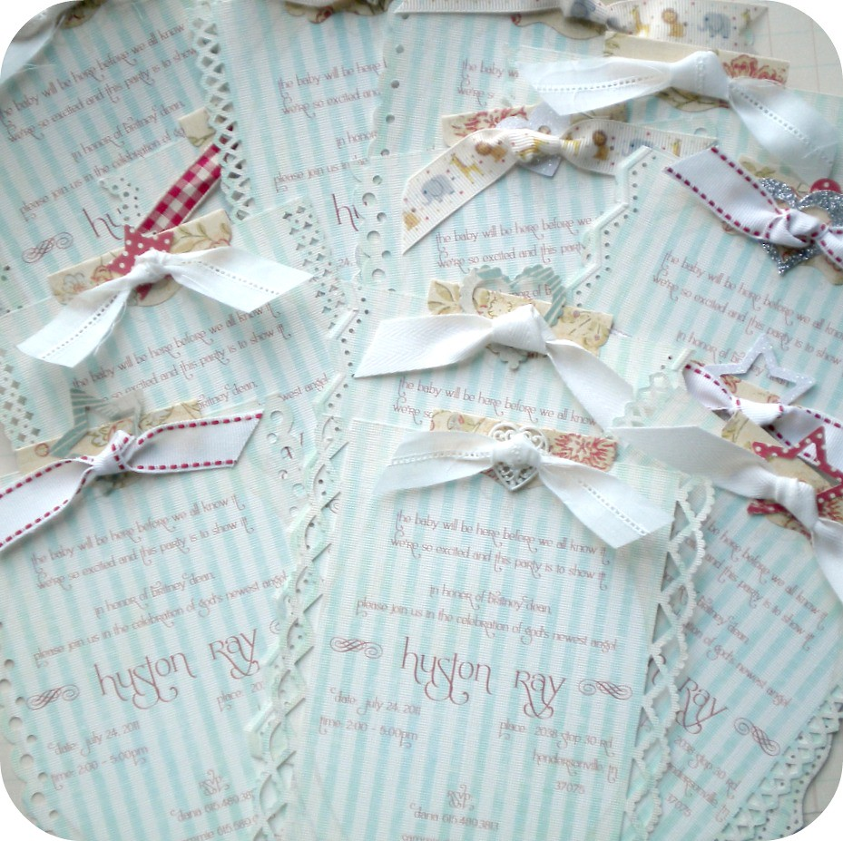 Shabby chic baby shower invitations once again everything flickr shabby chic baby shower invitations by little paper farmhouse filmwisefo