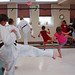 One World, Many Stories :: Week 4 :: Tae Kwon Do Demonstration :: form practice 3