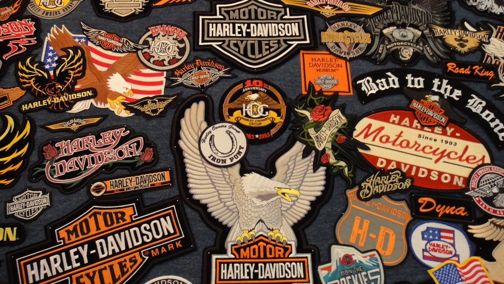Harley Davidson Patches For Jackets