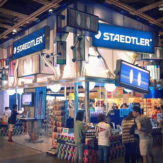Staedtler booth at book fair | by Patrick Ng
