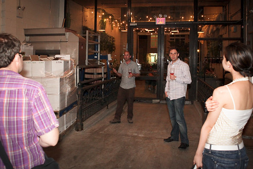 Winemaker Conor McCormack & Brooklyn Winery co-founder Brian Leventhal | by Speak Easy Series