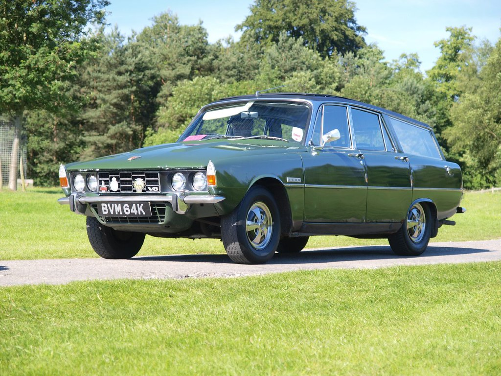 Rover 3500 Estate Cars (Very Rare Cars) - 1971 | Rover 3500 … | Flickr
