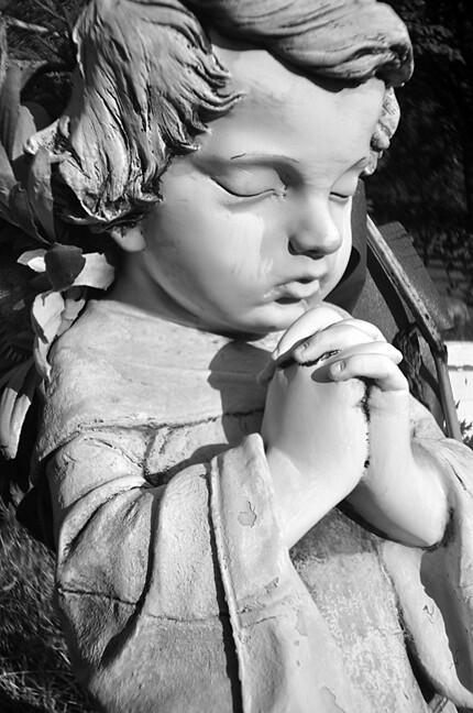praying baby angel 2 | I received my HL-N holga lens for ...