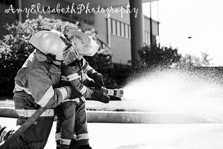 Firefighter Father & Son | by AmyElisabethPhotography {a.k.a DVMsWife}