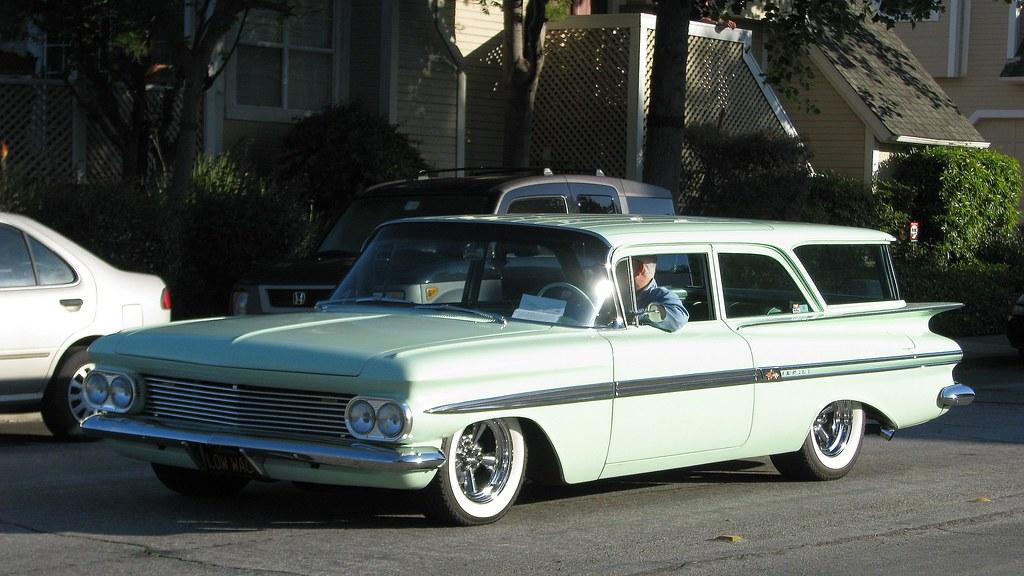 1959 Chevrolet Impala Station Wagon Low Wag 1