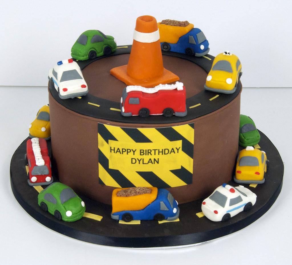 Bc4048 Construction Birthday Cake Toronto Bc4048 A