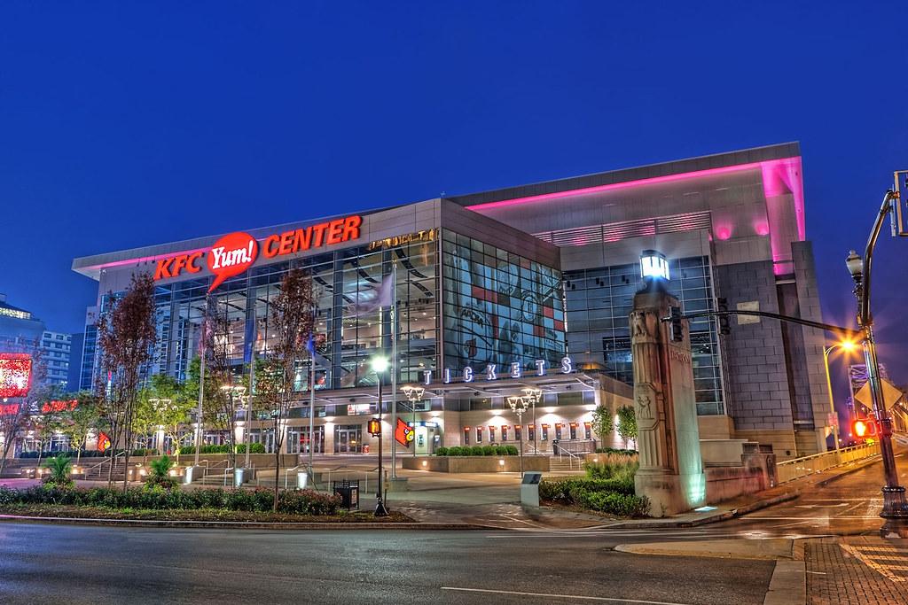 The KFC Yum! Center: The Colonel Gets His Own Stadium - Eater |Kfc Yum Arena