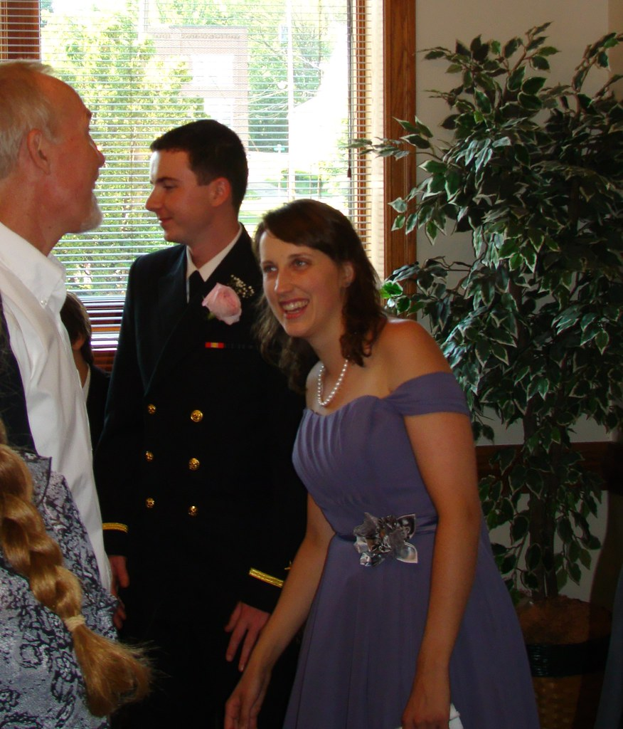Abby and best man greeting tim mohr glenn marsch flickr for Abby glenn