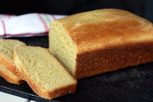 yeast cornbread loaf | by Elly Says Opa