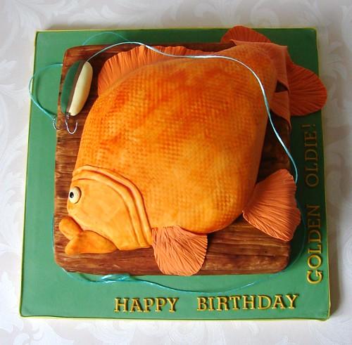 Goldfish Cake Pan