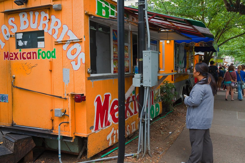 Mexican Food Cart Portland Oregon