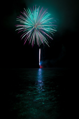 Fireworks Over Water | by J-Bones
