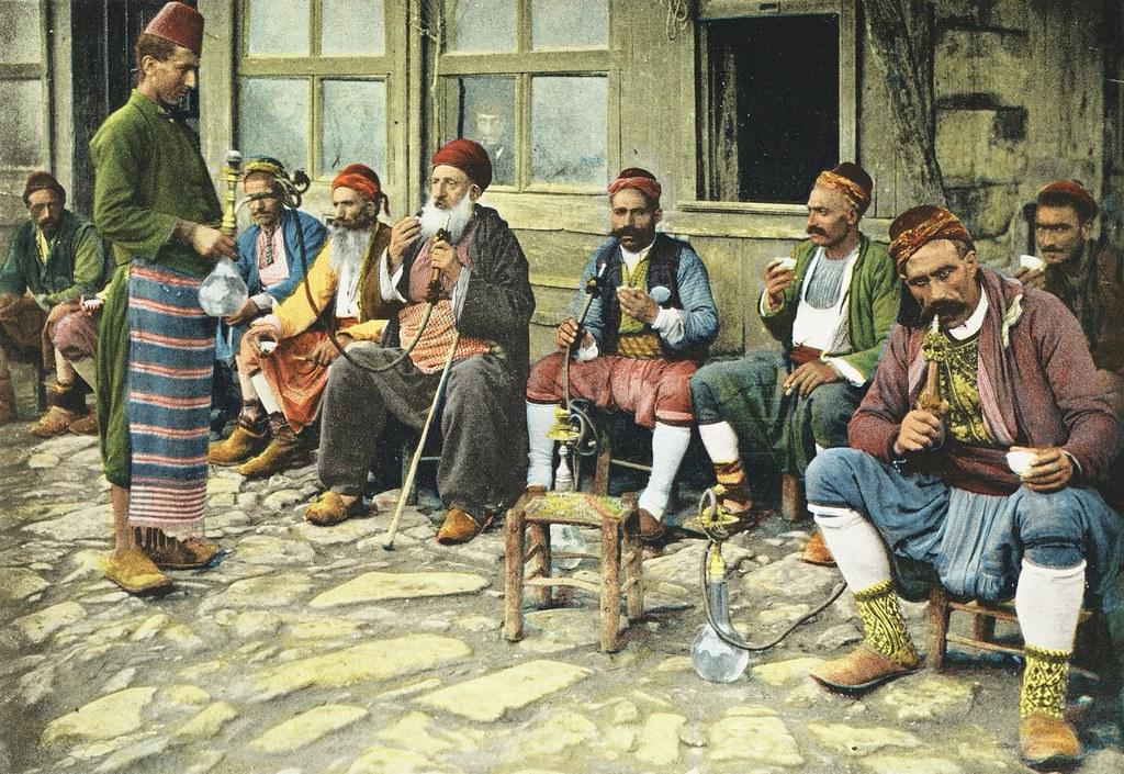 Free Download 1898 Istanbul Constantinople Turkey Men Smok