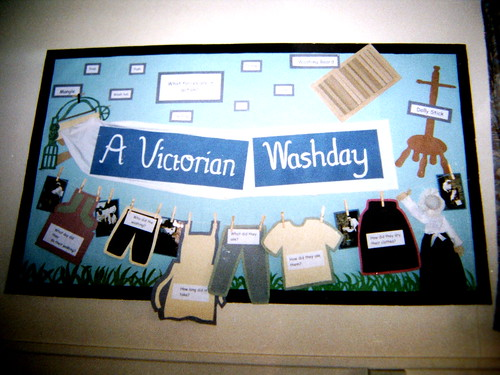 Classroom Display Ideas Victorians : A victorian washday emu flickr