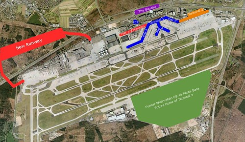 Frankfurt Airport Layout Brett Snyder Flickr