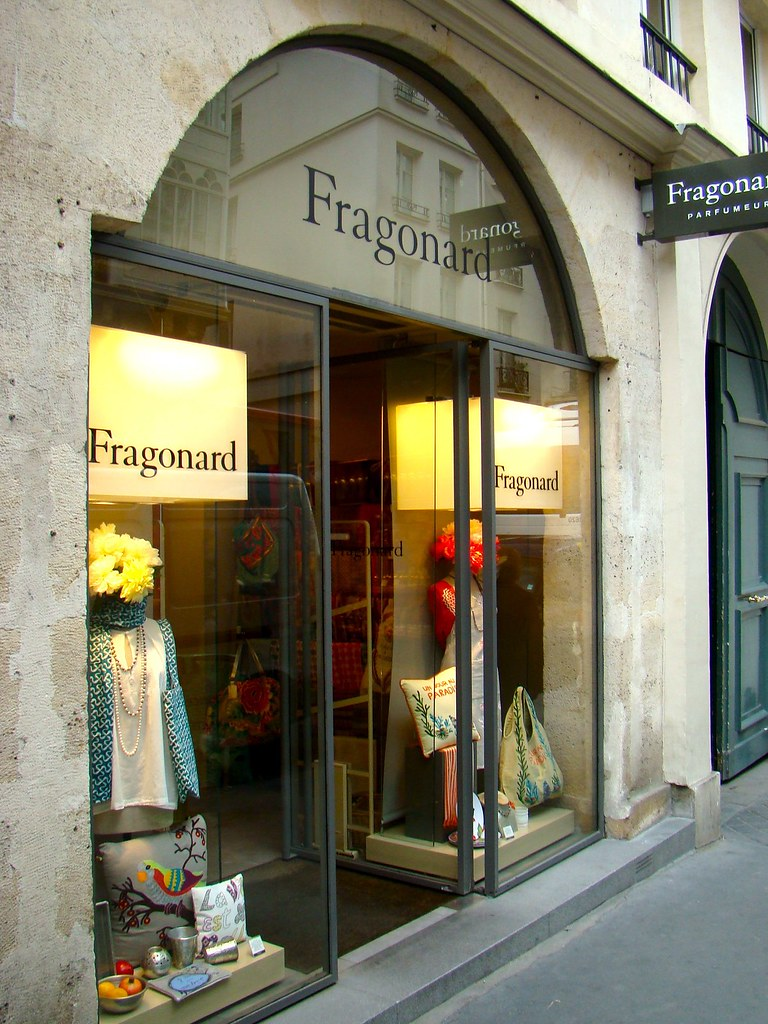 Paris france fragonard store rue du mont thabor bob hall flickr - Fragonard boutique paris ...